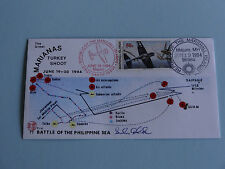 WWII FDC #77 Battle of the Philippine Sea Marianas Japan 1944