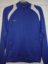 Nike Men's Track Jacket Blue/White Size M