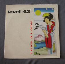 """Vinilo SG 7"""" 45 rpm LEVEL 42 - TAKE A LOOK"""