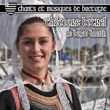 CD Chants et musiques de Bretagne - Théodore Botrel