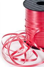 5mm x 450m Balloon RED Curling Ribbon, 5mm x 450m length, RED