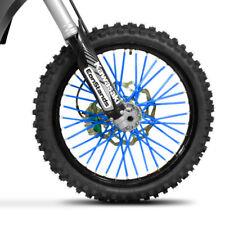 80 couvre rayons orange pour jante roue moto cross enduro mécaboite vélo