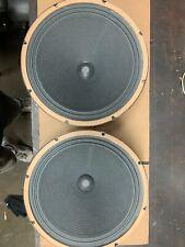 "Vintage 12"" Jensen Amp Speakers Set Reconed"