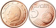 D) BELGIO 5 CENTESIMI 1999 FDC UNC
