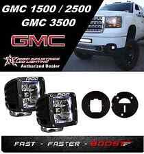Rigid Radiance Pod White&Fog Light Kit 08-13 GMC1500&08-10 Sierra HD 2500/3500