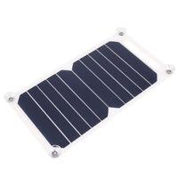 6W 5V USB Port Solar Cell Panel Board Portable Sunpower Charging Power Bank R1BO