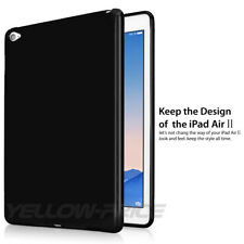 Silicon Case For iPad Air 2  Transparent Case Soft TPU Back Cover Tablet