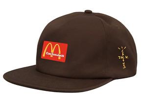 Travis Scott Cactus Jack Baseball Cap Embroidery McDonalds Scotts Hip Hop Hat
