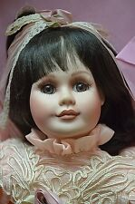 Maryse Nicole Sweetheart ROSE Musical Franklin Heirloom Dolls Porcelain 19""