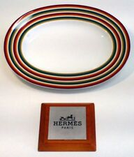 Hermes Attelage - Raviera Hermes Porcellana Attelage - Piattino Ovale Attelage