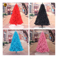 3 4 5 6 7 ft Christmas Artificial Tree Xmas Pink Silver Gold Black UPS 3 Days