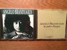 Angelo Branduardi [2 CD Alben] La pulce d'acqua +  BEST OF