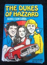 1980 The Dukes Of Hazzard Bubble Gum TV Trading Cards Pack Donruss Rare (#50)