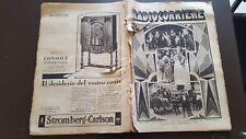 RADIOCORRIERE anno 6 n 45 1930 LA MARINA A VELA E LA RADIO - CLARION 6/17