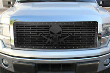 Steel Aftermarket Grille PUNISHER AR-15 for 2009-12 Ford F-150 LARIAT KING RANCH