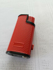 PLASTIC GAS TURBO LIGHTER , THREE JET FLAME , RED COLOUR