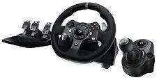 NEW Logitech G920 Driving Force Racing Wheel (941-000121) + SHIFTER BUNDLE