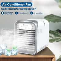 LED Touch Screen Air Cooler Fan Conditioner Humidifier&Purifier Aromatherapy AU