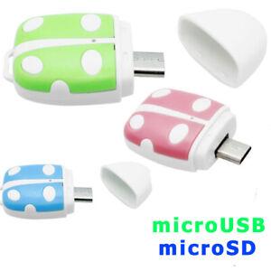 Adattatore host OTG lettore scheda memoria microSD per Honor Play 3 CK1
