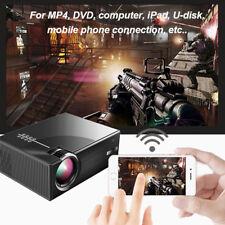 BF2A Mini Projector 3D HDMI VGA USB Home Theater Multimedia LED Projetor Laptop