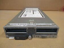 Cisco UCSB-B200-M4 UCS B200 M4 CTO Blade Server with heatsinks +  RAID 2YR Warr