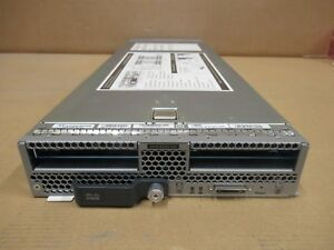 Cisco UCSB-B200-M4 UCS B200 M4 CTO Blade Server No CPU, Mem, HDD Bays, HDD, Mezz