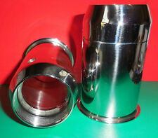 BSA A65/TRIUMPH 120  FRONT FORK SEAL HOLDERS POLISHED STAINLESS (1969/70 MODELS)