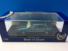 Buick Riviera 88 1988 1:43 BoS Models Turquesa Bos43280
