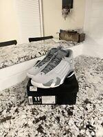 "Air Jordan Retro 14 ""Wolf Grey"" Mens Size 11.5"