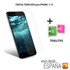 """Cristal templado protector pantalla IPHONE 7 / 8  4.7"""" 0,3mm 9H 2.5D.SIN PACKAGE"""