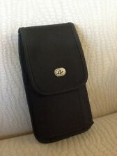 "(Cellphone Size 6""x3""x0.5"") Vertical Case Belt Clip & Loop Pouch Holde"