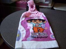 Dora The Explorer Crochet Top Hanging  Kitchen Towel