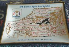1971 RYDER CUP (OLD WARSON C C) PIN TRAY