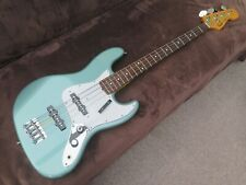 Fender Japan FSR Classic '60s Jazz Bass, Ocean Turquoise Metallic. With Case