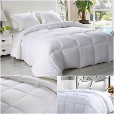 Bed Comforter Duvet Soft Plush Fluffy Insert Fill Alternative Bedding Queen Size