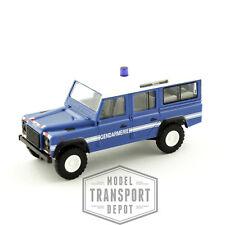 Busch 50310 Land Rover Defender 110 Station Wagon Gendarmerie Scale Model HO