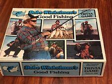 Vintage 1986 Babe Winkelman's Good Fishing Trivia Board Game. 99% Complete.