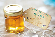 Honey Wedding Favours - Ideal present for your guests. Small UK honey producers.