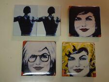 Andy Warhol Factory Refrigerator Magnet Art Set Decorations 1990's #2