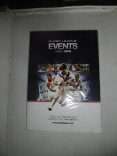 Rugby League Events Guide 2005.