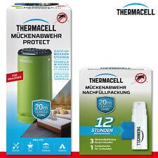 Thermacell Mosquitos Protect Verde + Paquete de Recambio 12 Horas Grabado Libre