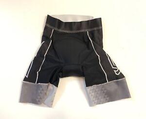 Verge Women's Small Speed+ Triathlon Short Black/Grey