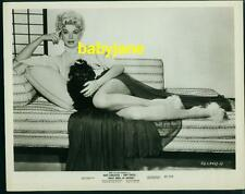 Barbara Nichols Vintage 8X10 Photo Pinup Holding Poodle 1957 Sweet Smell Success