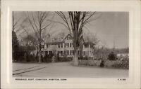 Ivoryton CT Robert Comstock Home c1910 Real Photo Postcard