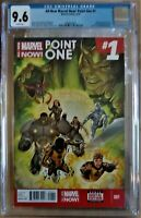 All New Marvel Now! POINT ONE #1 CGC 9.6 NM+ w/ WP 1ST Full App New Ms. Marvel
