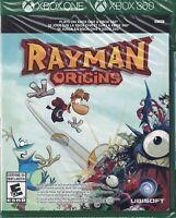 Rayman Origins - Microsoft Xbox One / 360 [2D Sidescrolling Platformer Game] NEW
