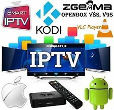 iptv subscription UK full HD 6 months zgemma firestick android smart tv magbox