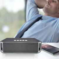 Bluetooth Rechargeable Wireless Speaker Pretty Outdoor TF FM USB Radio Ster X7J7
