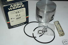 Z 4099 ASSO DR Pistone Completo Piaggio Vespa 50 cc per kit 100 cc da 55,8 mm