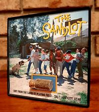 The Sandlot Movie Prop Filming Location Dirt Relic Framed Display